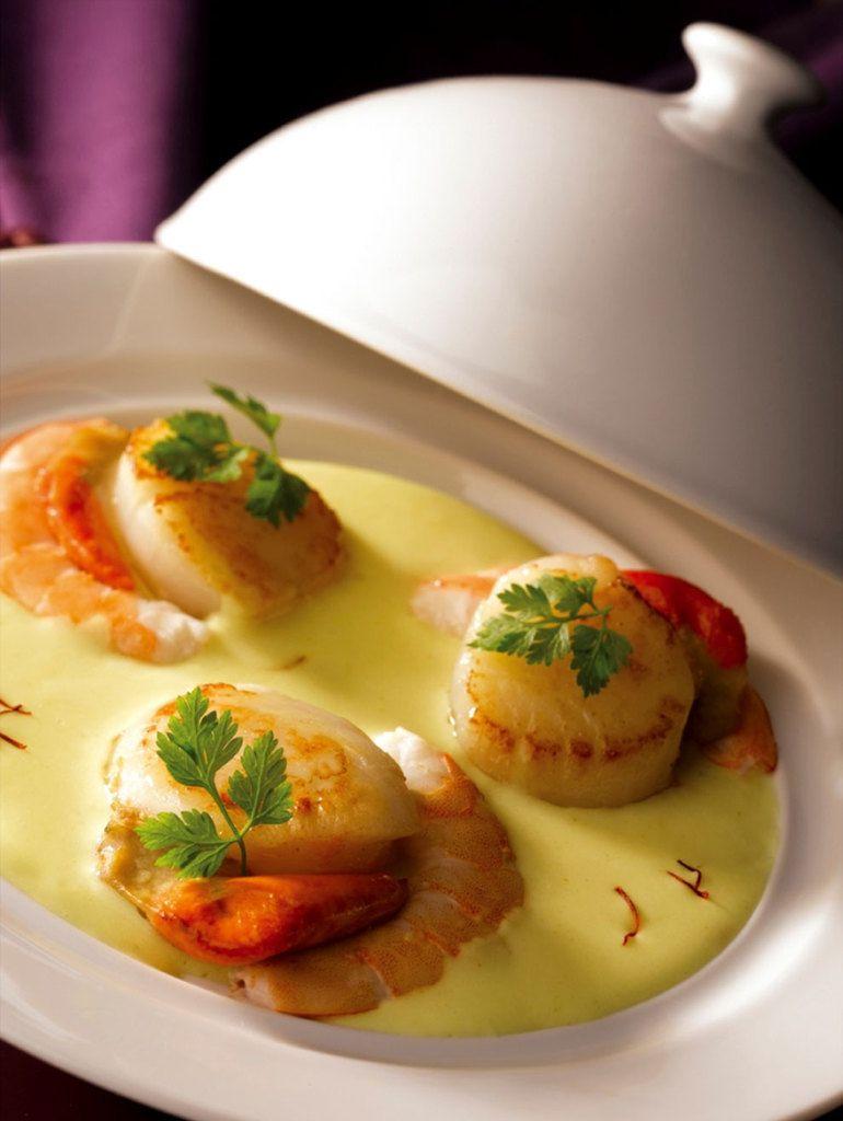 Les recettes type de plat mise en bouche entr e poisson for Coquilles saint jacques en entree