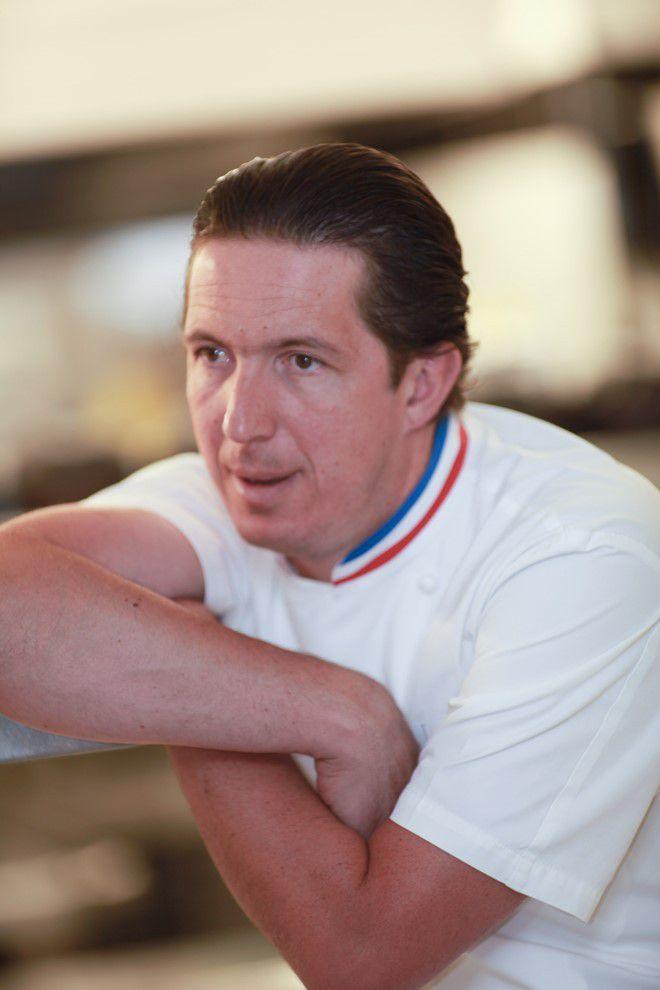 Christophe Bacquié reçoit Laurent Jeannin pour un diner à