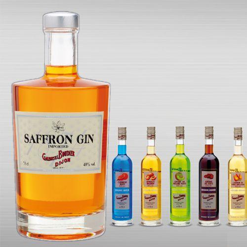 Une gamme de liqueurs Bartender