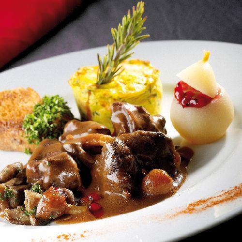 Civet de biche grand veneur arts gastronomie - Recette de cuisine gastronomique de grand chef ...
