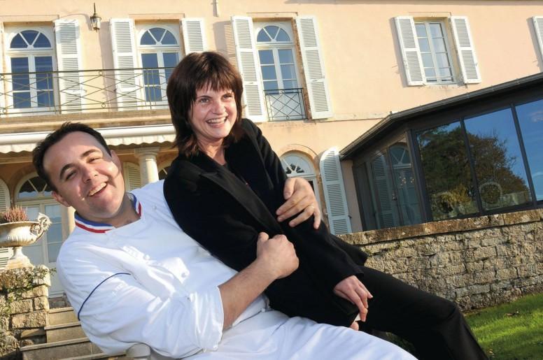 Le chef Romuald Fassenet et sa femme Catherine, sommelière