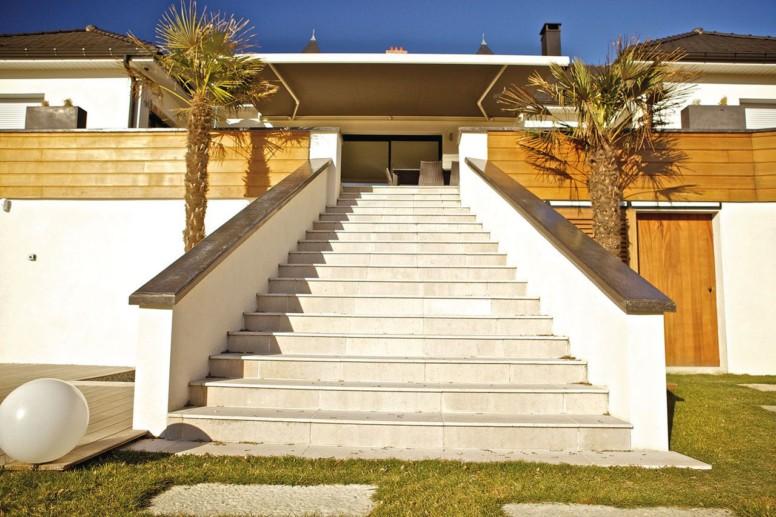 Une villa de rêve imaginée par le décorateur lyonnais Serge Palombi