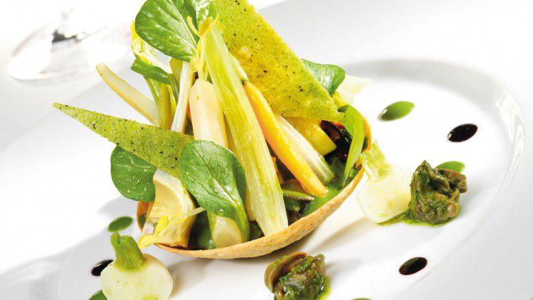 Tarte fine d'escargots de Bourgogne