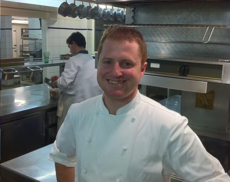 Jérôme Pras, le second du restaurant l'Albert 1er à Chamonix se qualifie pour la finale du Mof