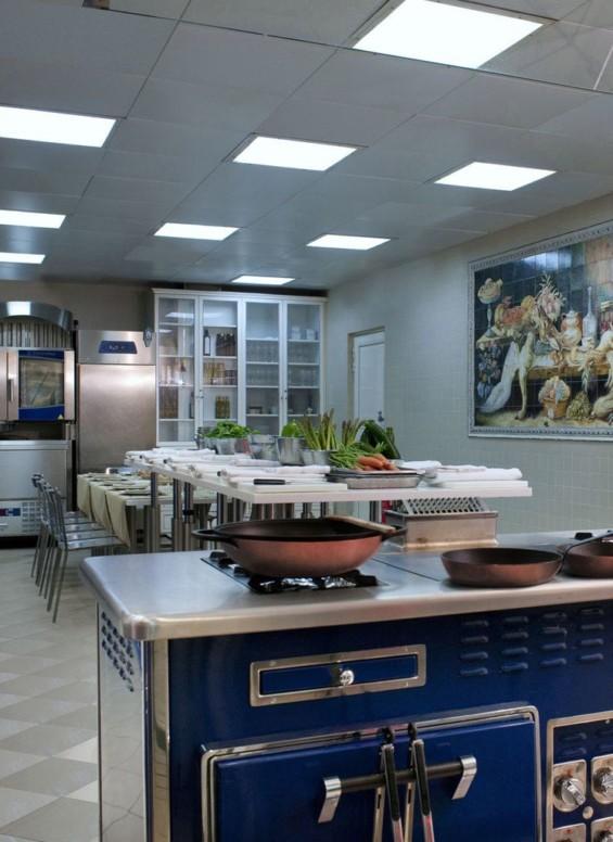 Les cuisines de l'école Ritz Escoffier