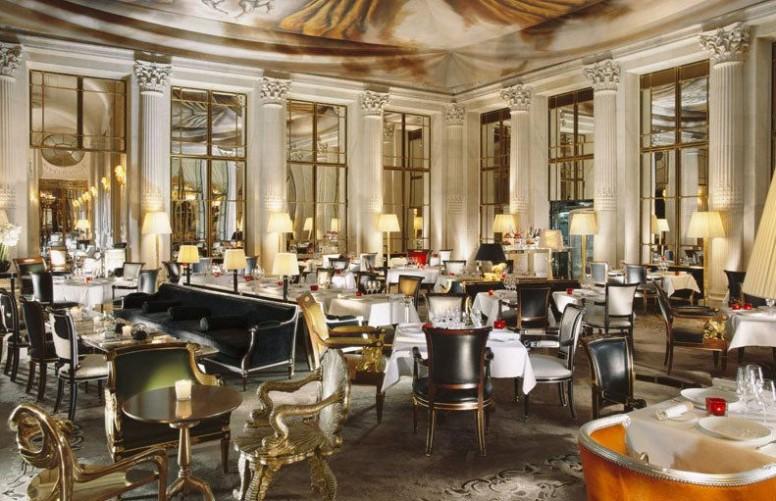 Salle de restaurant du Meurice