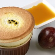 Soufflé aux fruits de la passion