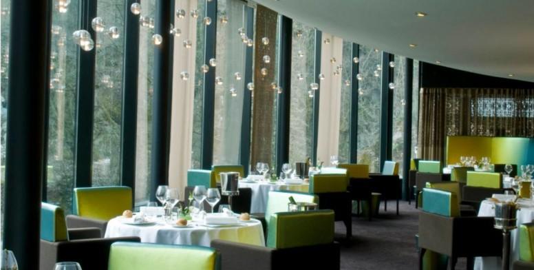 Le restaurant du Pavillon de la Rotonde