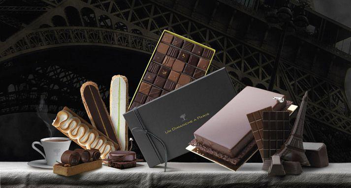"""un Dimanche à Paris, le """"lieu"""" du Chocolat... Un concept-store """"tout chocolat"""" : vente, dégustation, initiation, gastronomie, conférences, animations."""