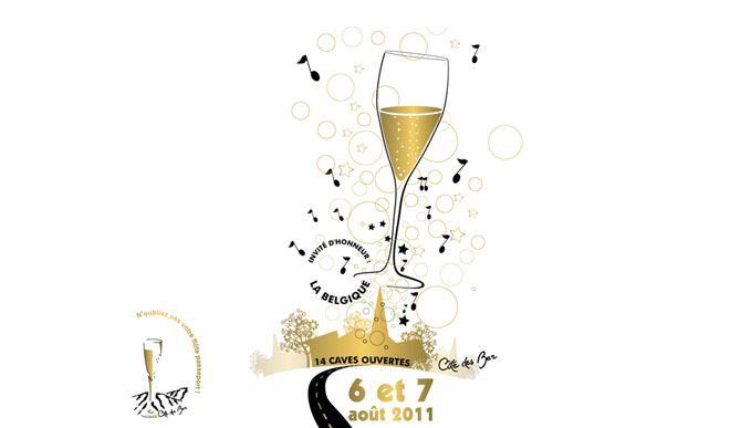 La route du champagne en fête le week-end des 6 et 7 août 2011