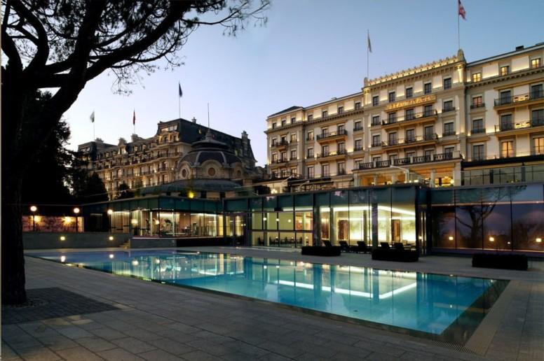 Beau-Rivage Palace à Lausanne