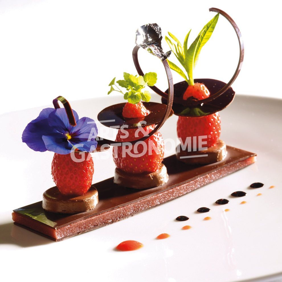 Choco fraise gariguette pectine de fraise et son jus - La cuisine des italiens ...