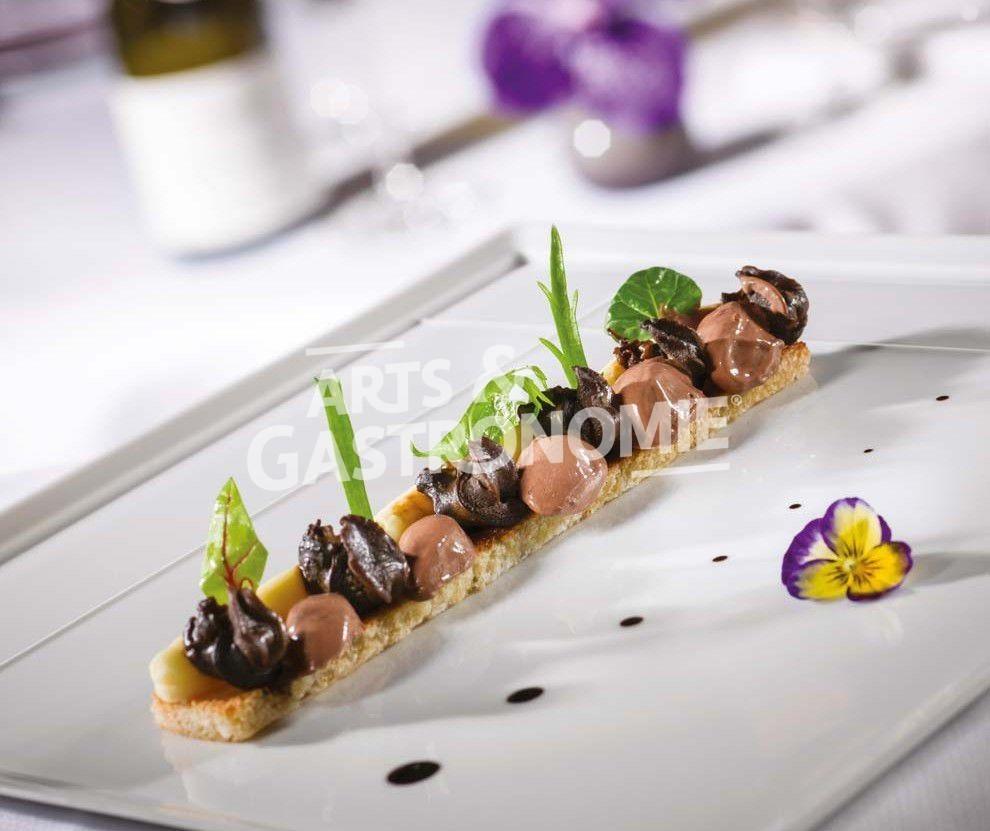 Tartine d escargots la racine de cerfeuil tub reux for Entree gastronomique