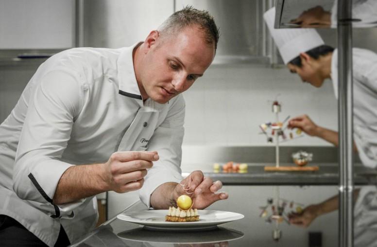 Freddy Monier, nouveau chef pâtissier du Château St Martin & Spa