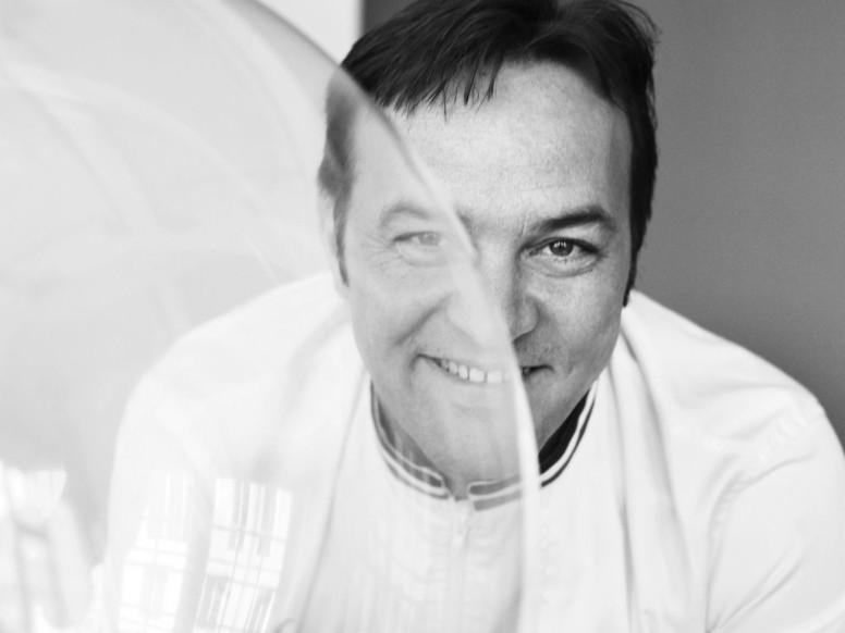 Le chef Emmanuel Renaut –restaurant « Flocons de Sel » à Megève
