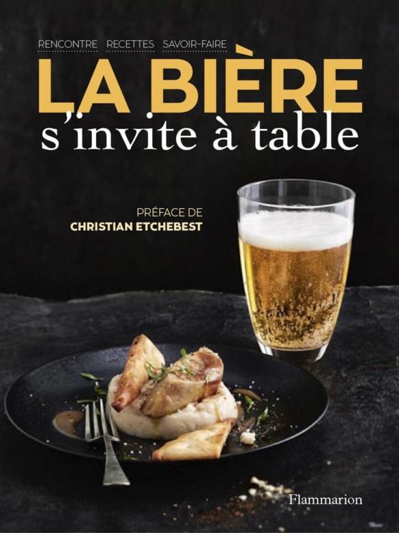 Couverture - La bière s'invite à table