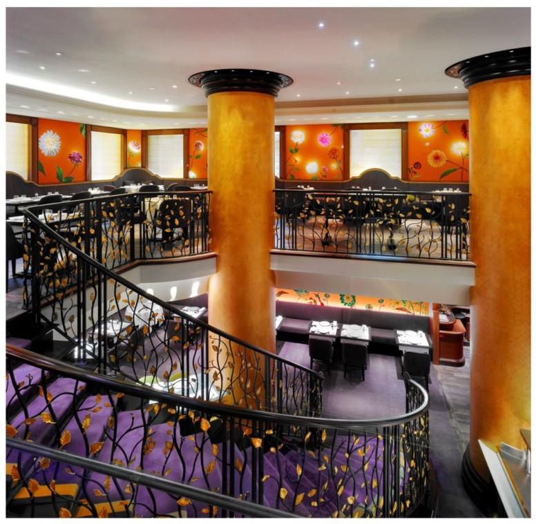 114 Faubourg, restaurant de l'hôtel Le Bristol
