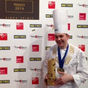 Nicolas Davouze sacré Bocuse d'Or France 2014