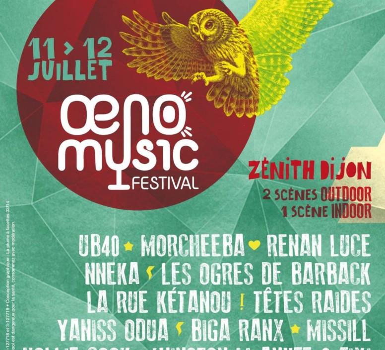 Oeno festival affiche 2014
