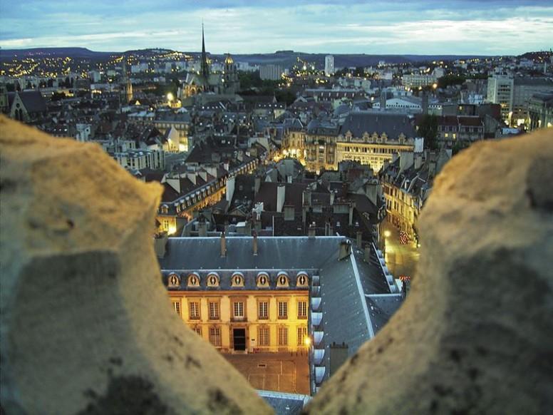 Vue de Dijon depuis la Tour Philippe le Bon
