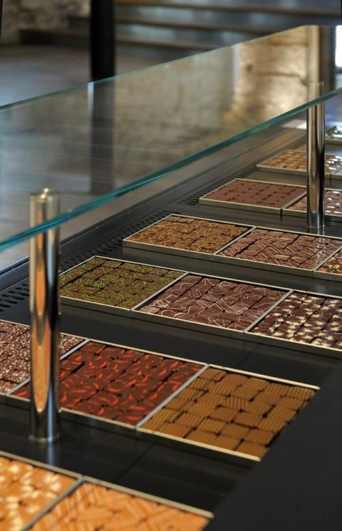 Ouvert il y a deux semaines, on y trouve toutes les douceurs du chocolatier autodidacte.