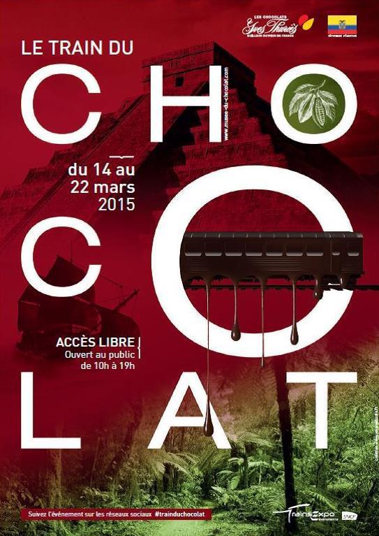 Train Chocolat_affiche
