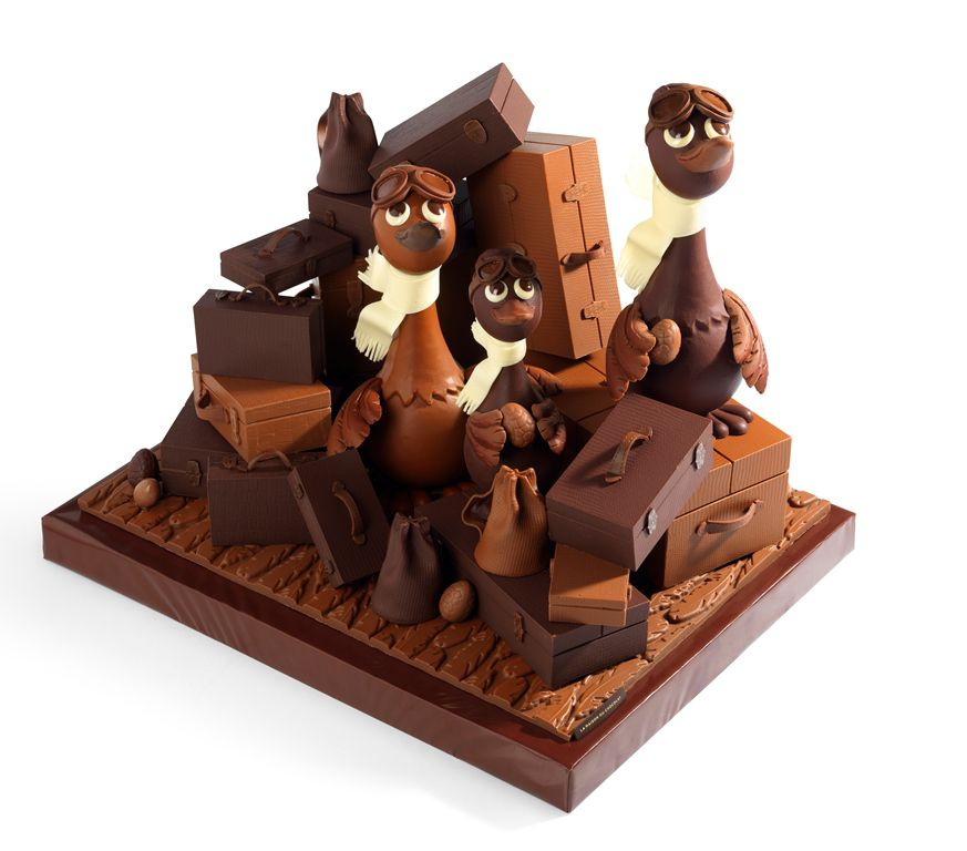 P ques notre s lection de cr ations chocolat es arts gastronomie - Chocolat de paques pas cher ...