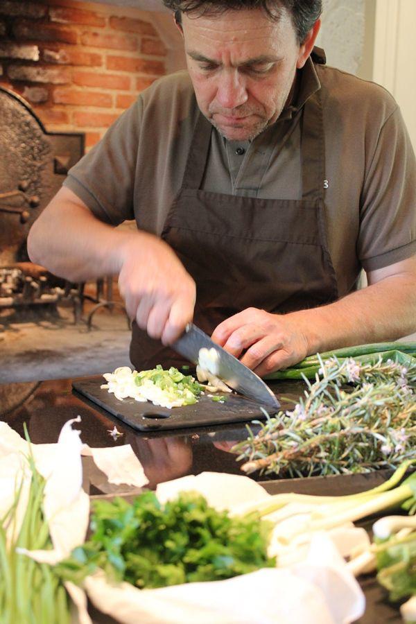 Patrick Duler, cuisinier paysan au coeur du Domaine de Saint-Géry