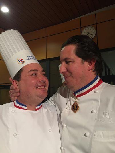 Guillaume Royer et Christophe Bacquié - Finale MOF 2015
