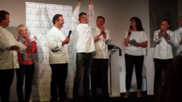 Christophe adam élu Meilleur chef pâtissier de l'année 2015 Relais Desserts