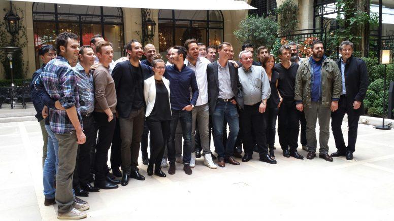 Pour fêter les 10 ans du Club des Sucrés, trente chefs pâtissiers se sont réunis autour de Christophe Michalak_© Clémence Rouyer