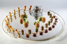 Assiette de viande_ThèmeLe Pigeon_ Laurent Lemal©BocFrance-dinerchefs