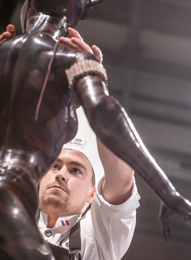 Vincent Vallée, nouveau champion du monde français de chocolat_© World Master Chocolate