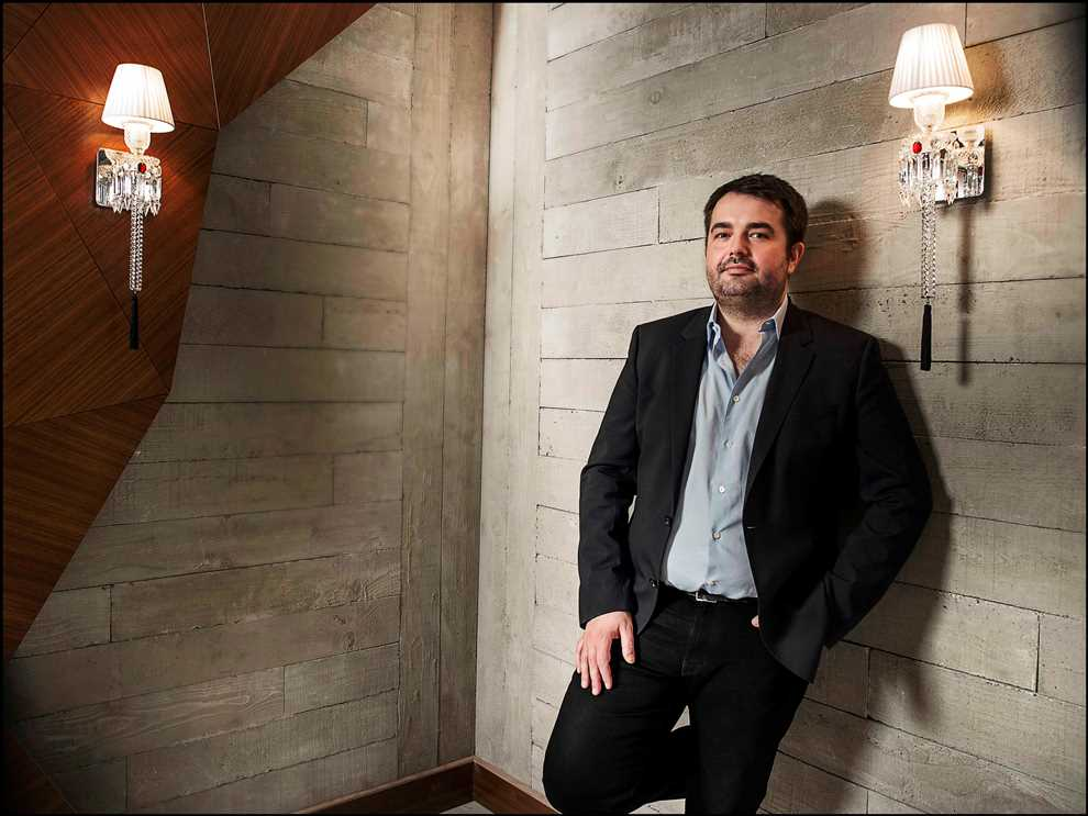 Jean Francois Piege se met sur son 31 pour sa première Saint-Sylvestre au Grand Restaurant_©Khanh Renaud