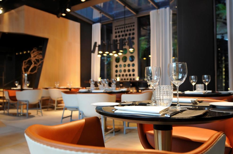 Le CInq Codet offre le confort d'un restaurant confidentiel à l'abri des regards_© Le Cinq Codet
