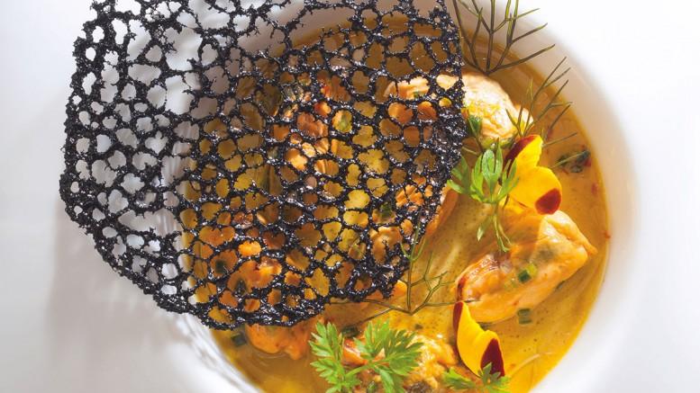 Moules de Bouchot en royale marinées au curcuma frais