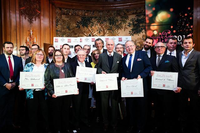 Les hommes de l'année 2016 récompensés par la Revue du Vin de France_© Régis Grman