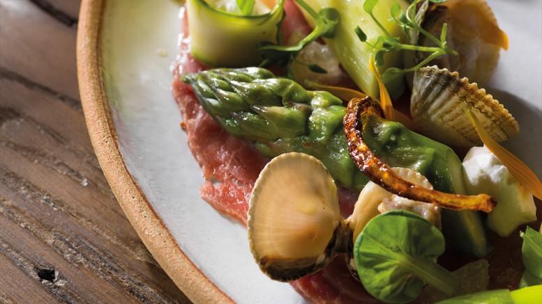 asperges de Roques-Hautes, bœuf maturé 30 jours