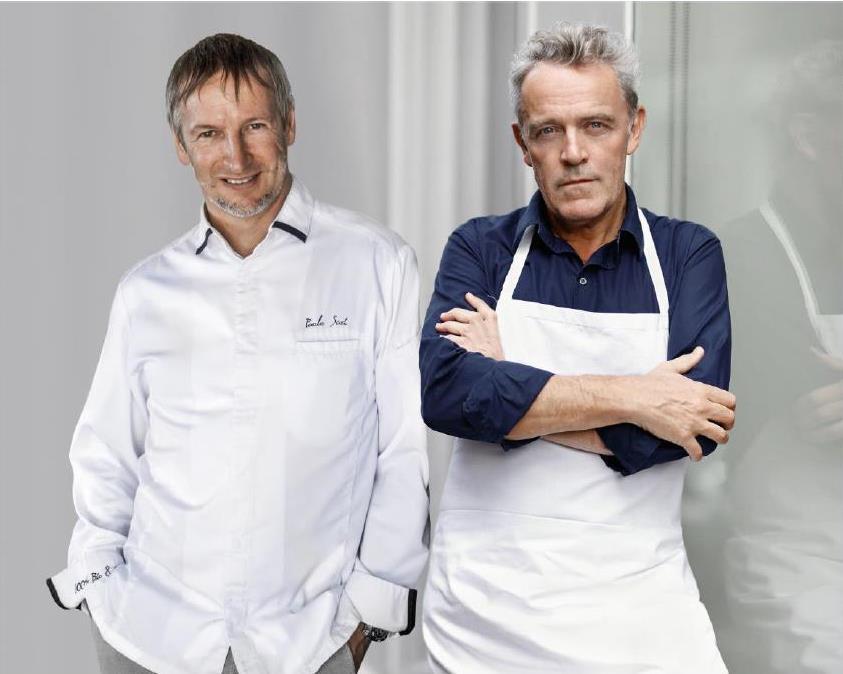 Paolo Sari et Alain Passard seront réunis pour un repas à 4 mains 100 % biologique le 8 mars 2016_© Monte Carlo Beach