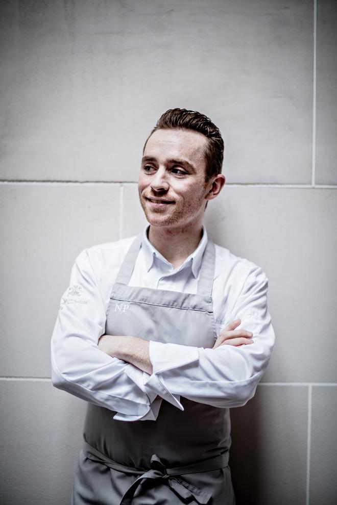 Nicolas Paciello a rejoint l'hôtel Prince de Galles en tant que chef pâtissier fin 2015_© DR