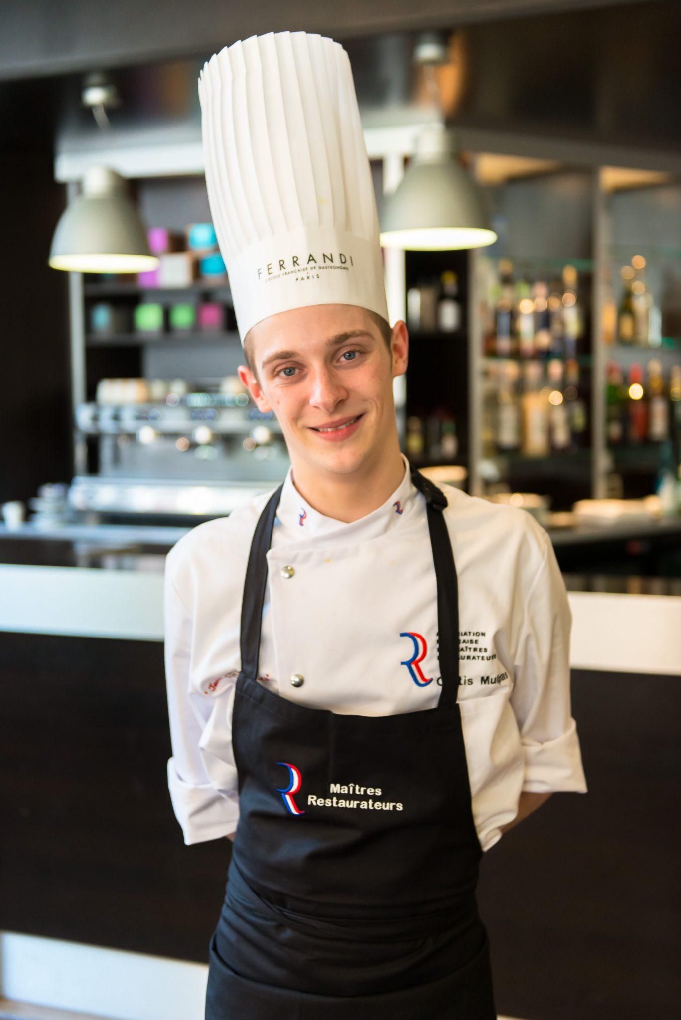 Curtis Mulpas, 18 ans, remporta la 6ème édition du concours Maîtres restaurateurs_© Jean-Louis Vandevivere