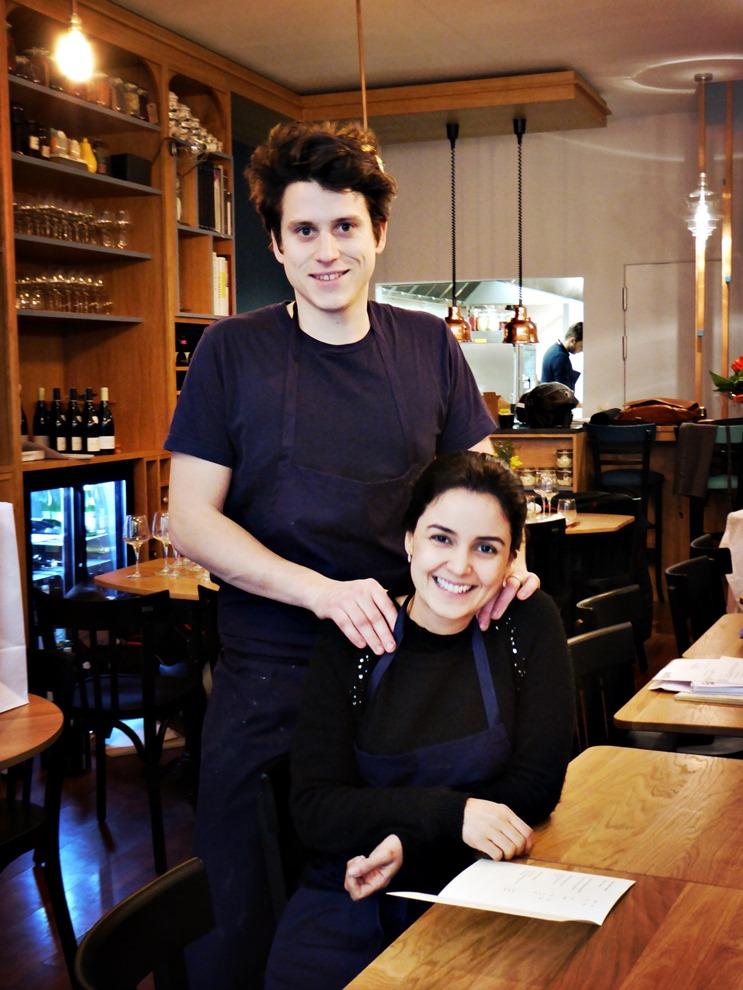 Tabata et Ludovic Mey viennent d'ouvrir ensemble leur premier restaurant à Lyon_©_DR