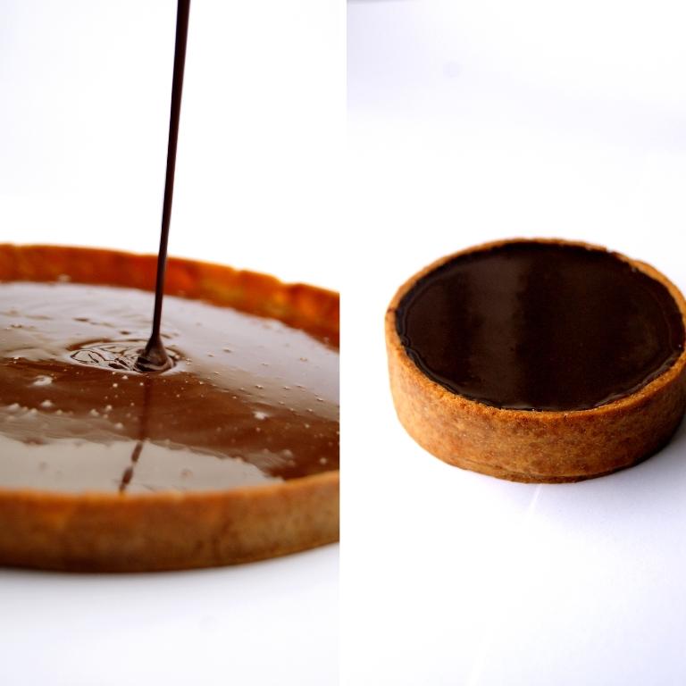 La tarte au chocolat version classique de Titouan Claudet_©Titouan Claudet
