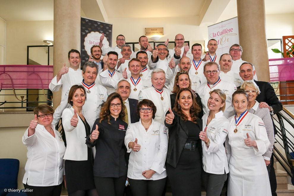 La 2nde édition du concours La Cuillière d'Or a réuni pas moins de 33 jurés pour 12 finalistes_© thvallier