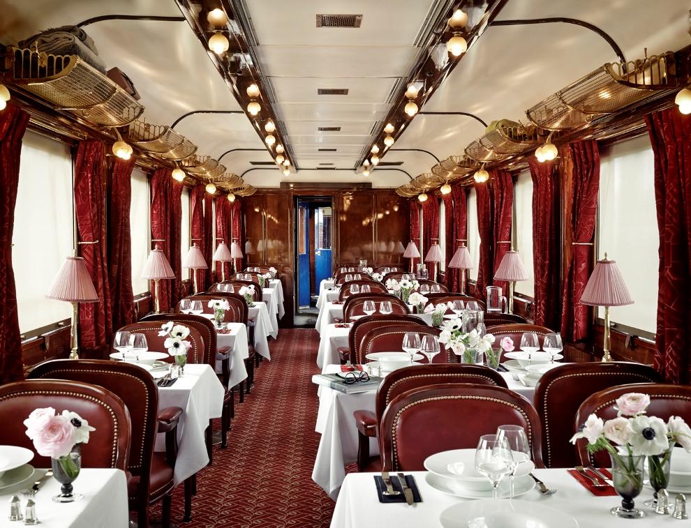 A bord de l'Orient Express, le faste des années folles renait le temps d'un dîner_© Jérôme Galland