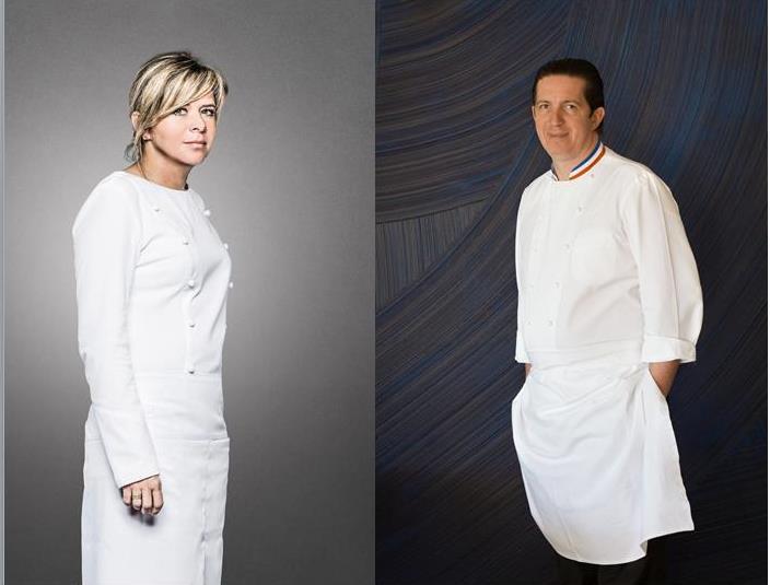 Le 13 mai prochain, Christelle Brua rejoint Christophe Bacquié à l'hôtel du Castellet pour un dîner à 4 mains explosif_© DR