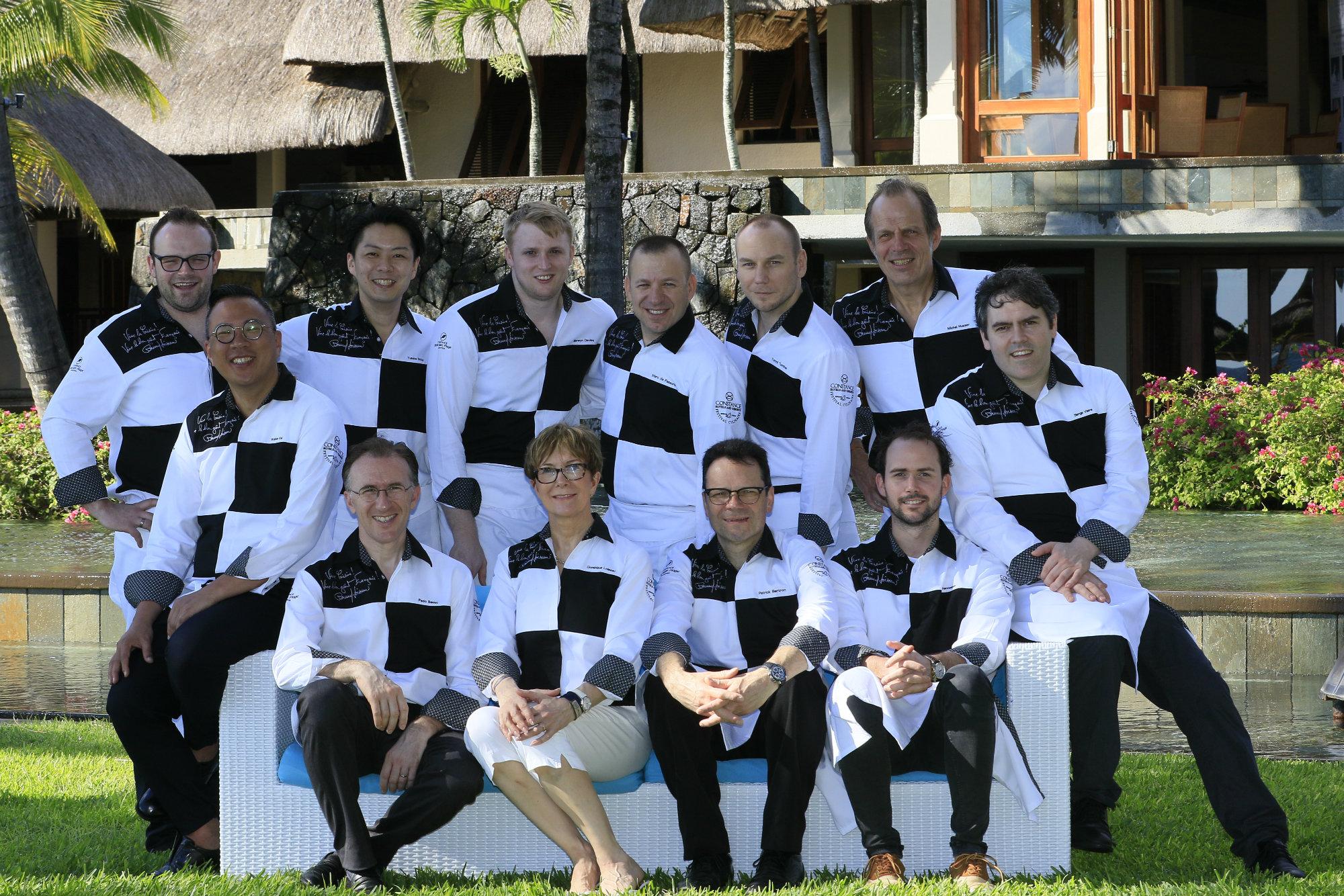 Ce sont pas moins de 6 bînomes qui se sont affrontés lors du Festival Culinaire Bernard Loiseau qui s'est déroulé à l'ïle Maurice sous l'égide de Dominique Loiseau_©_DR