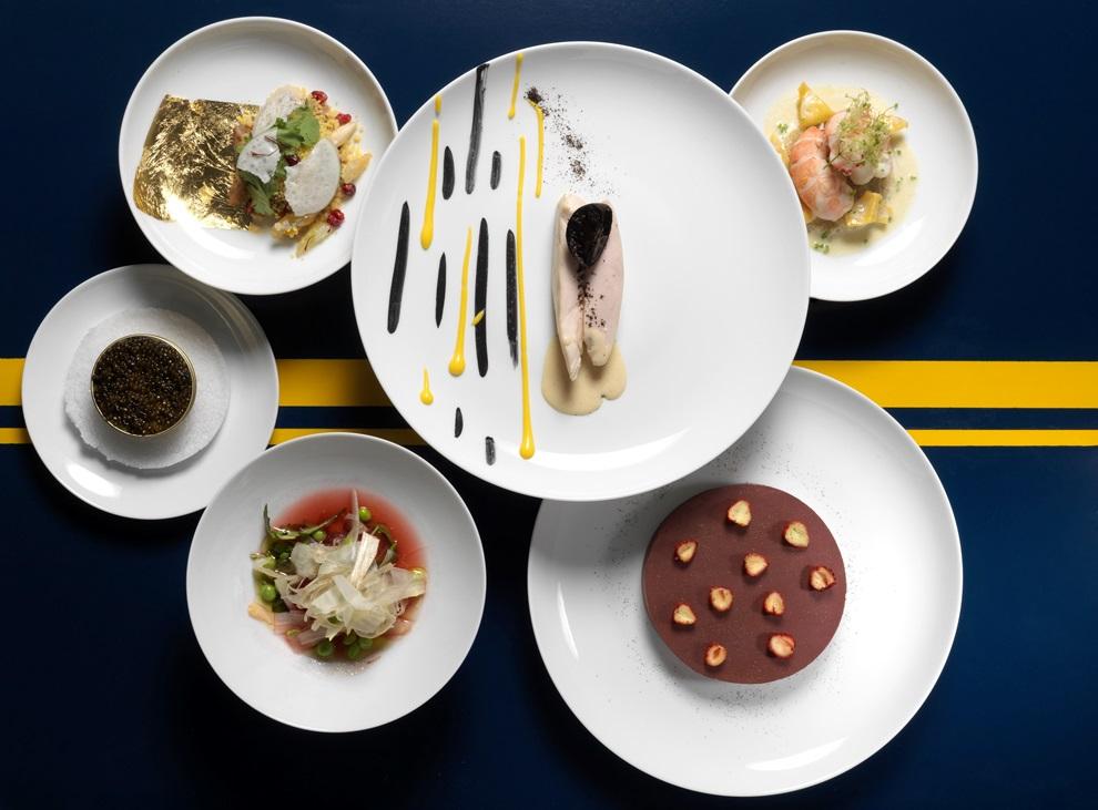 Du 3 ai au 30 juillet 2016, yannic kAlléno et yann COuvreur signe un repas à quatre mains à bord de l'Orient Express_© Thomas Duval