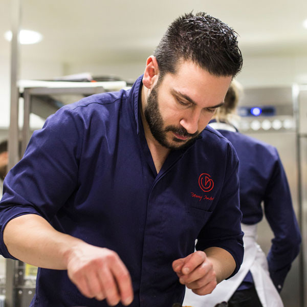 Denny Imbroisi chef restaurant IDA Paris