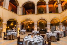 salle du restaurant d'Anthony Bonnet à cours des Loges de Lyon